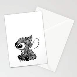 Geometric Stitch Stationery Cards