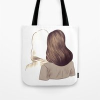portal Tote Bags featuring Portal by Isabel Seliger