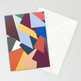 Abstract No 451 By Chad Paschke Stationery Cards