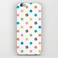 Eyes with polka dots iPhone & iPod Skin