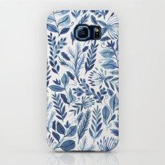 indigo scatter Galaxy S8 Slim Case