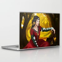fullmetal alchemist Laptop & iPad Skins featuring Alchemist daughter by Ale Caballero