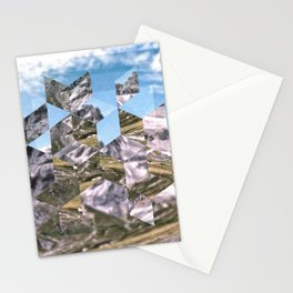 Mountain Fragments Stationery Cards