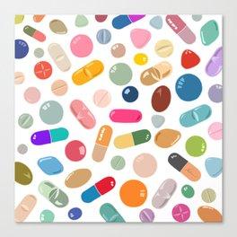 Sunny Pills Canvas Print