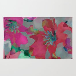 Lily Blooms Rug