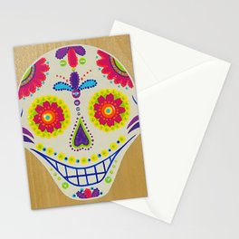 Day of the Dead Skull Stationery Cards