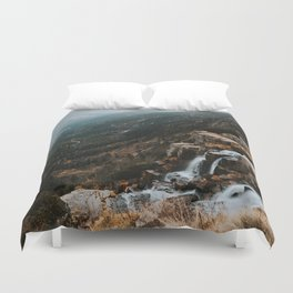 Autumn falls - Landscape and Nature Photography Duvet Cover