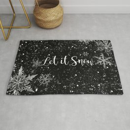 Let it snow Rug