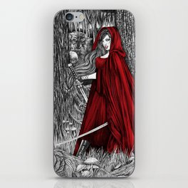 Silent Warrior by Tierra Jackson iPhone Skin