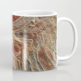 Paris Wilderness: Sandstone Pattern at the Wave Coffee Mug