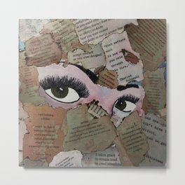 Eyes Open// Stop the stigma  Metal Print