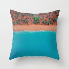 Broome Australian Beaches  Throw Pillow