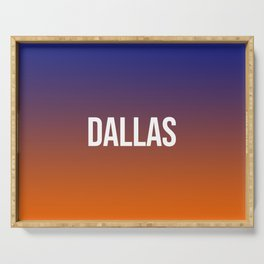 DALLAS Serving Tray
