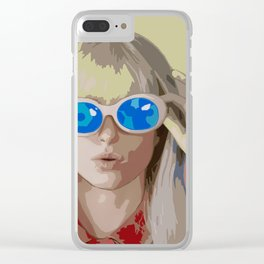 Hayley Williams Hard Times After Laughter Clear iPhone Case