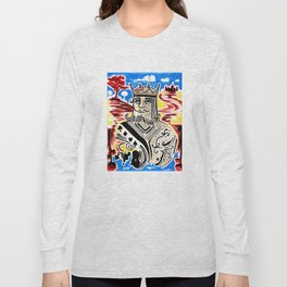 King Of Cards Long Sleeve T-shirt