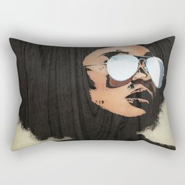 Venus Afro Rectangular Pillow