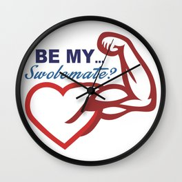 Be Mine? Wall Clock