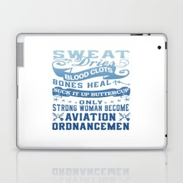 Aviation Ordnanceman Woman Laptop & iPad Skin