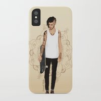 zayn iPhone & iPod Cases featuring Skater Zayn  by Coconut Wishes
