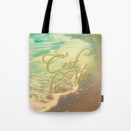 Beach Waves I - C'est La Vie Tote Bag