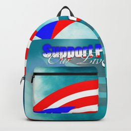 Support Puerto Rico Backpack