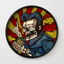 Elvis Jager Party Wall Clock