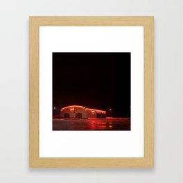 Late Night Eats Framed Art Print