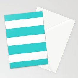 Mariniere marinière green or blue Stationery Cards