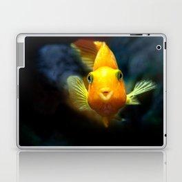 Funny goldgish Laptop & iPad Skin