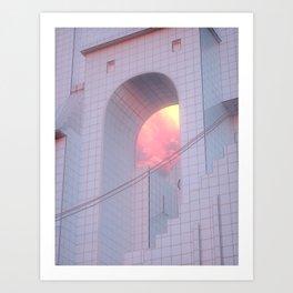 Bunkyo-ku Architecture Art Print