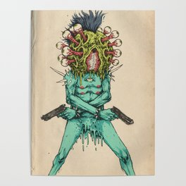 Eye-Pop Assassin Poster