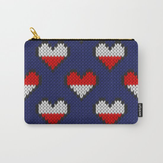 Heart half full half empty Carry-All Pouch
