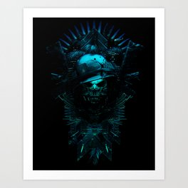 King of The Hill - 5 Art Print