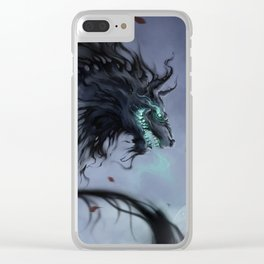 The Grim Clear iPhone Case