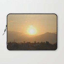 Sun Set Across Nagarjuna Laptop Sleeve