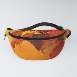 VIVID AUTUMNAL LEAVES Fanny Pack