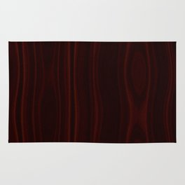 Mahogany Wood Texture Rug