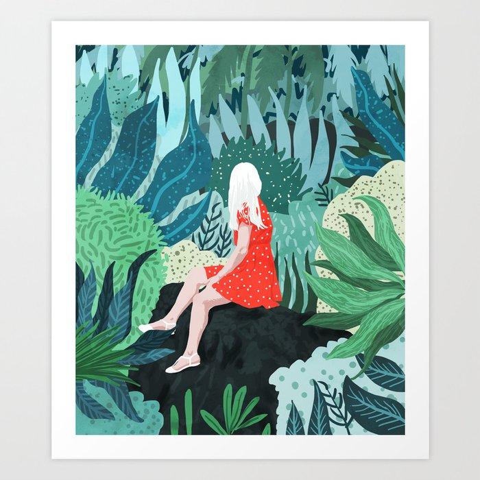 Forest Gaze Art Print
