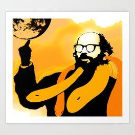 Allen Ginsberg Art Print