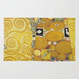 The Embrace - Gustav Klimt Rug