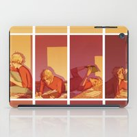enjolras iPad Cases featuring Year's Since it's Been Clear (Enjolras) by batcii