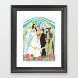Holy Matrimony Framed Art Print