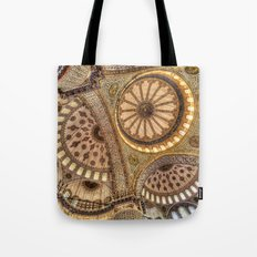 The Blue Mosque Istanbul Tote Bag