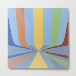 The Rainbow Room Metal Print