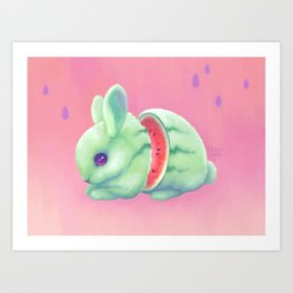 Sweeture: Watharemelon Art Print
