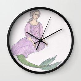 Sjöjungfrun Wall Clock