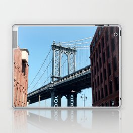manhattan bridge dumbo Laptop & iPad Skin