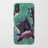 gengar iPhone & iPod Cases featuring Gengar by tinysnails