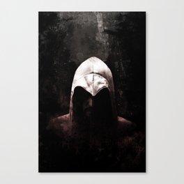 Roman Assassin Hood - Color Canvas Print