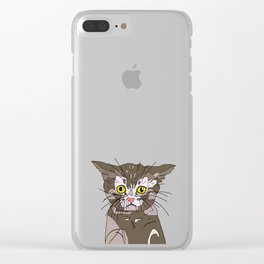 Maine Coon Kitty Clear iPhone Case